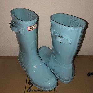 Hunter Short Rain Boots 8